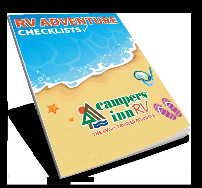 RV Adventure Packing Checklist  Book