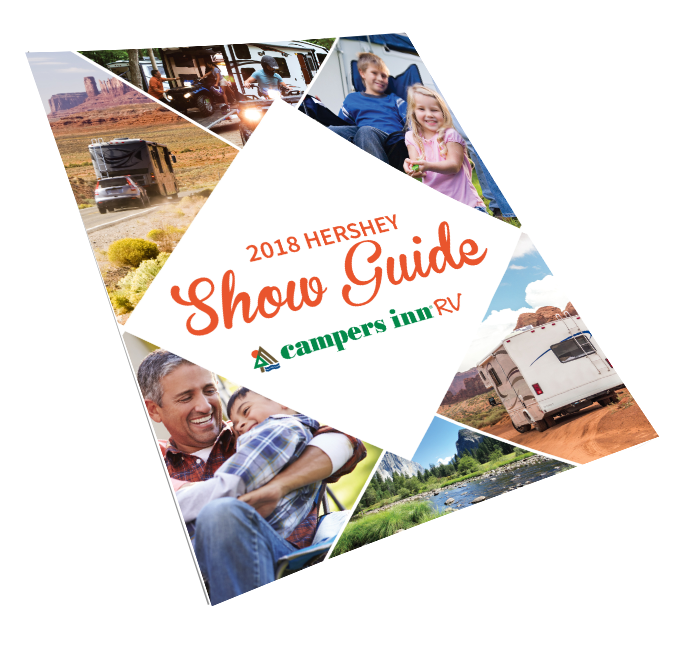 Hershey RV Show Guide  Book